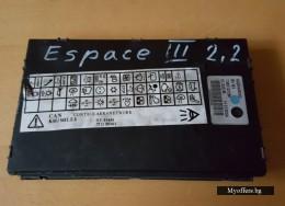 Комфорт модул за управление купето на Renault Espace 2.2