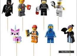 Комплект топери Lego Ninjago – 8 броя, еднолицеви