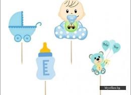 Топери Baby Boy – 8 броя в комплект