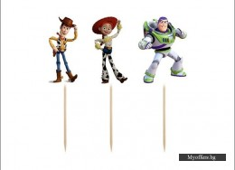 Топери Toy Story – Играта на играчките – 6 броя