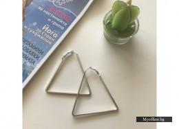 Обеци 'Триъгълник'