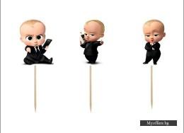 Комплект топери Baby Boss – 6 броя
