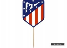 Топери FC Atletico Madrid – 8 броя в комплект