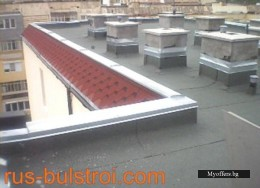 Ремонт на покриви, PVC мембрани, безшевни улуци в цялата страна.
