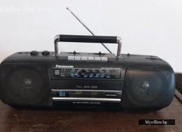 Panasonic rx-fs410 стерео радио касетофон