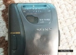 Уокмен SONY WALKMAN WM-FX163