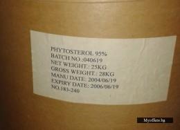 Фитостерол 95 % на прах за понижаване серумния холестерол в кръвта.