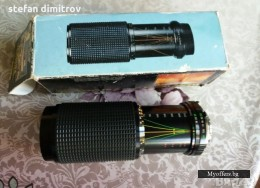 ОбективTeleSor Macro 75-300f5.6 One touch zoom for MINOLTA MD