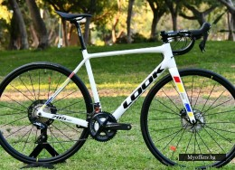 New Carbon Road Look 785 HUEZ DISC PROTEAM WHITE GLOSSY 2020 Model Siz